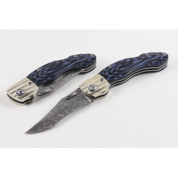 Нож Blue Dragon Damascus