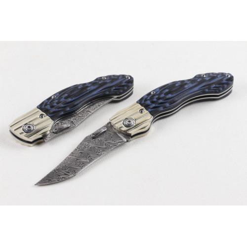 Нож Blue Dragon Damascus