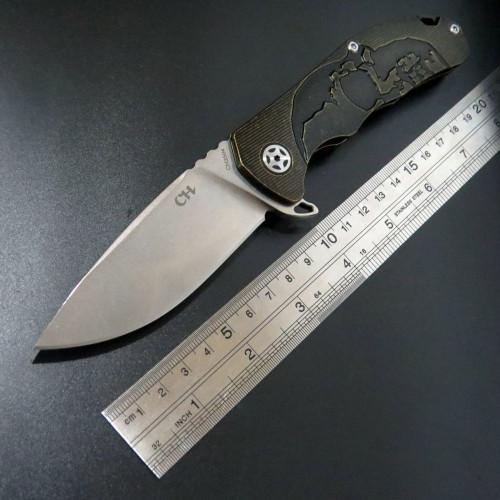 Нож CH 3504 Skull
