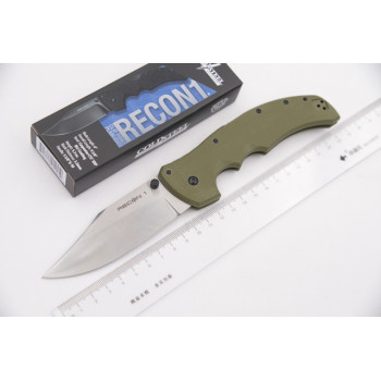 Нож Cold Steel Recon 1 Clip point Silver