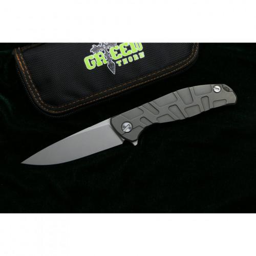 Нож Green Thorn F95 T-pattern D2