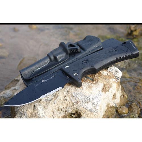 Нож HX Outdoors TD-01 Black D2