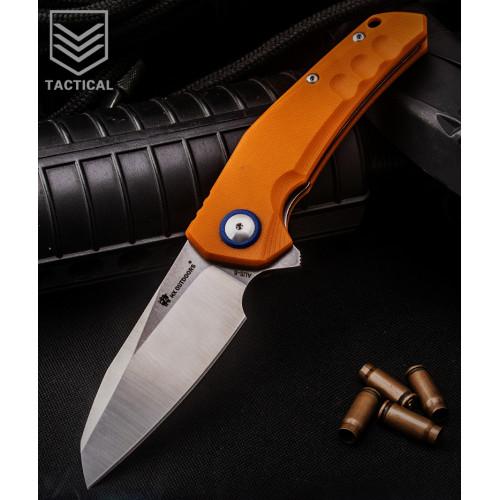 Нож HX Outdoors ZD-004 Orange EDC AUS-8