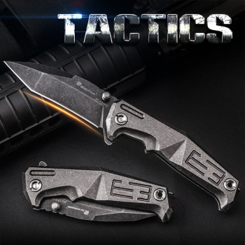 Нож HX Outdoors ZD-013BWS Tactics 9CR18MOV