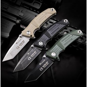 Нож HX Outdoors ZD-026AWS Alpha Ray 9CR14MOV