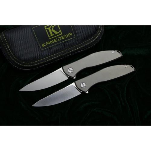 Нож Kanedelia Neon Zero Flipper TC4 D2