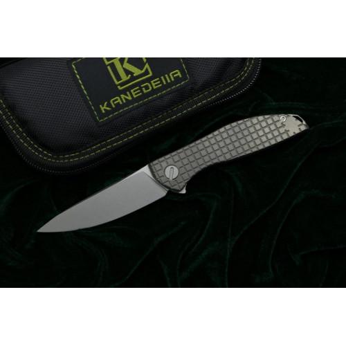Нож Kanedelia Neon Zero Flipper TC4 K110