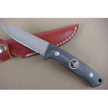 Нож Micarta Damascus