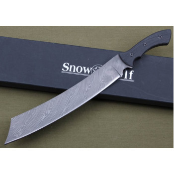 Мачете Snow Wolf Damascus