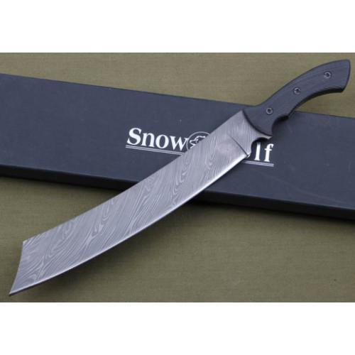 Мачете Snow Wolf Damascus