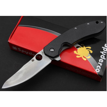 Нож Spyderco Brad Southard Flipper Carbon