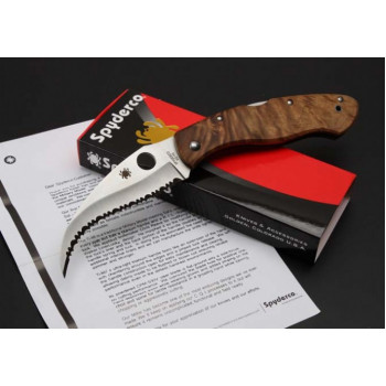 Нож Spyderco Civilian Wood
