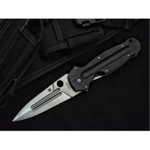 Нож Spyderco C215GP Ed Schempp EuroEdge 9CR18MOV