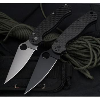 Нож Spyderco Paramilitary Carbon Fiber